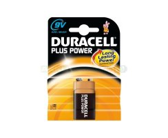 Duracell Plus Power 9V Blockbatterie Typ 6LR61 MN1604...