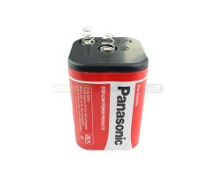 Panasonic Red Zinc 4R25 6V Batterie (Laternenbatterie)