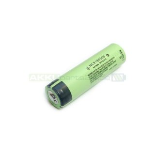 Panasonic NCR18650B 3,6V 3400mAh Li-Ion-Zelle Button Top