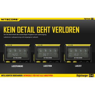 NiteCore Digicharger D4 EU