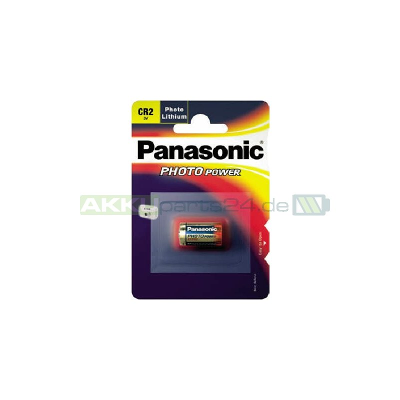 Panasonic CR2 Lithium Foto-Batterie 850mAh 3V