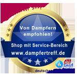 Registrierter Shop bei Dampfertreff.de